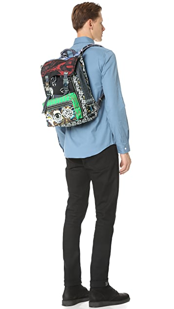 KENZO Essentials Flap Backpack