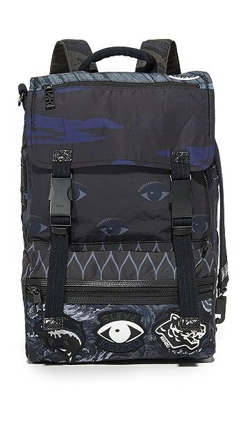 KENZO Essentials Flap Backpack