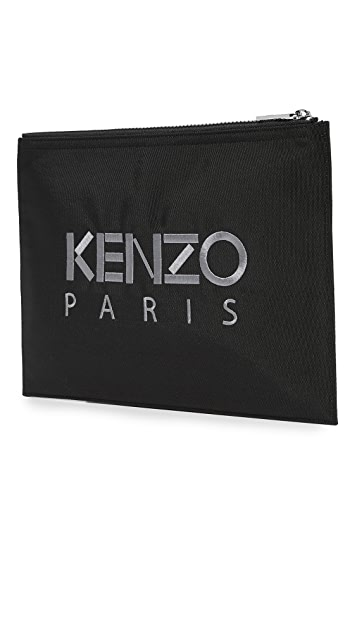 KENZO Tiger Head A4 Pouch