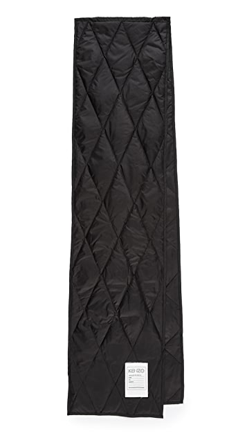 KENZO Quilted Scarf