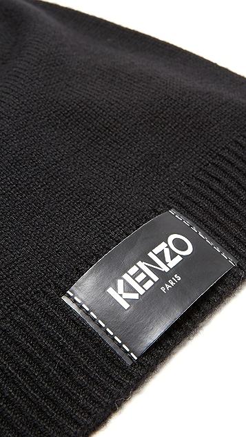 KENZO KENZO Label Beanie
