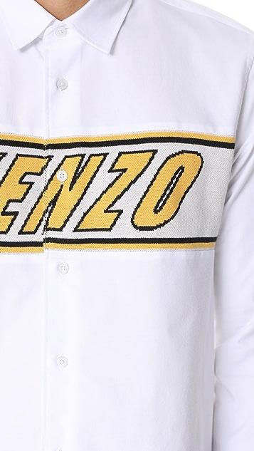 KENZO Kenzo Knitted Casual Shirt