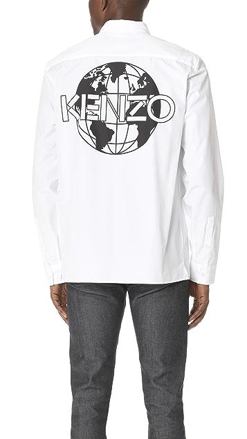 KENZO Kenzo Back Logo Shirt