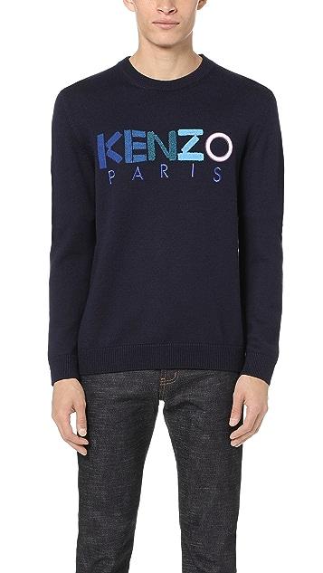 KENZO Kenzo Logo Pullover