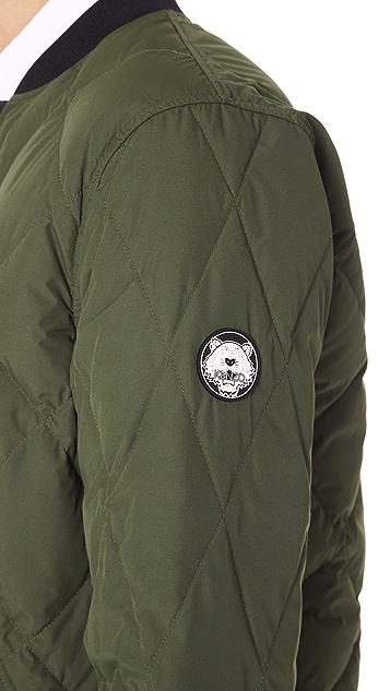 KENZO Reversible Down Blouson Jacket