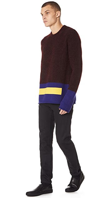 KENZO Blocking Crew Sweater