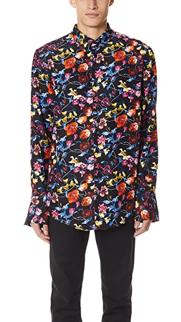 KENZO Silk Flower Shirt
