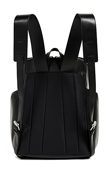 KENZO Leather Logo Backpack