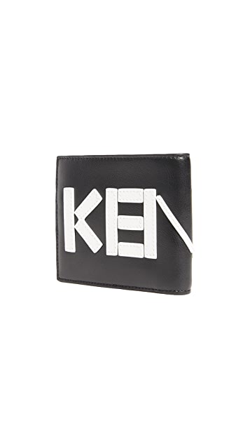 KENZO Leather Logo Wallet