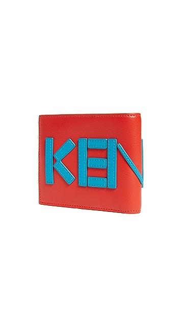 KENZO Leather Logo Wallet