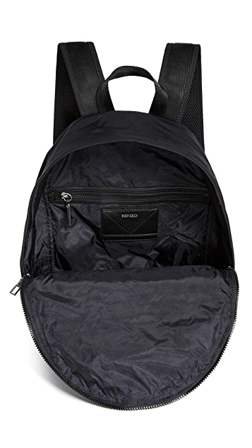 KENZO Nylon Signature Backpack