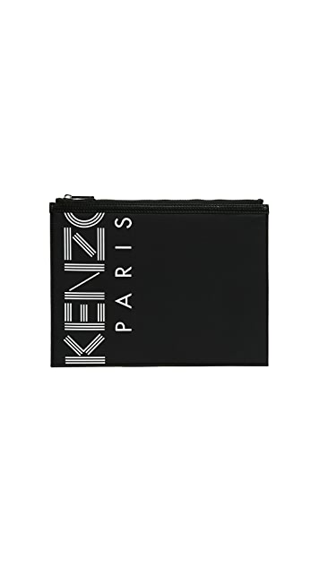 KENZO Nylon Sport A4 Pouch