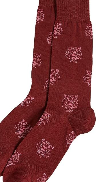 KENZO Multi Tiger Socks