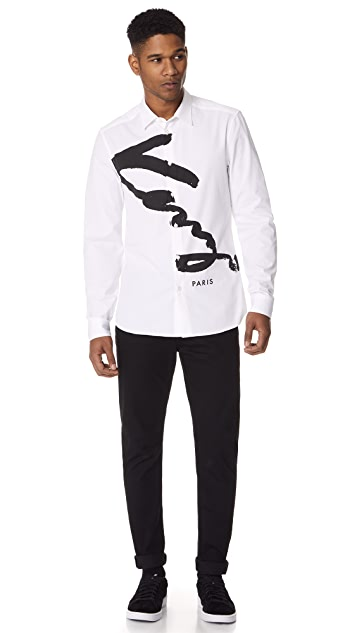 KENZO Signature Urban Slim Fit Shirt