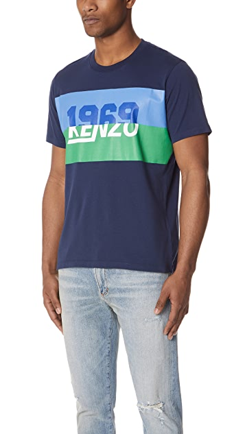 KENZO Crew Neck Tiger Tee
