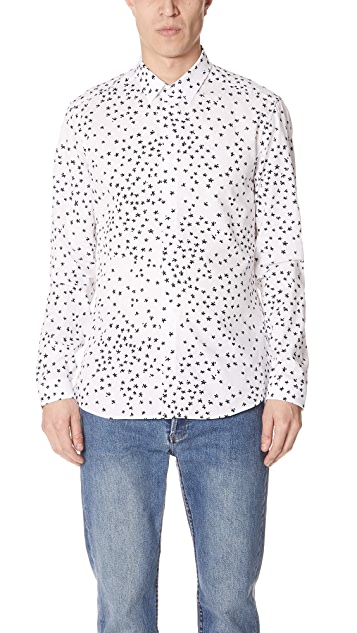 KENZO Contemporary Slim Fit Shirt