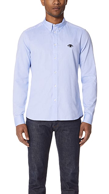 KENZO Button Down Slim Fit Shirt