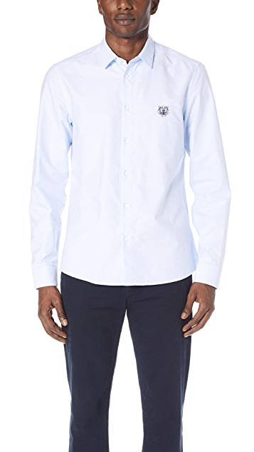 8b765eb2 KENZO Tiger Crest Urban Slim Fit Shirt | EAST DANE