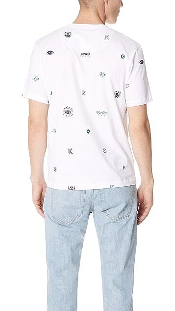 KENZO Multi Icons T-Shirt