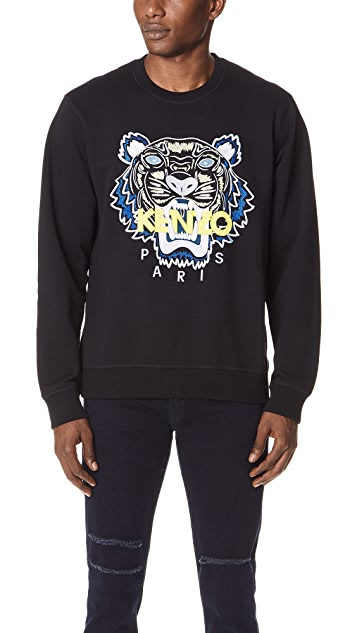 KENZO Tiger Classic Sweatshirt   EAST DANE d444f1ed936