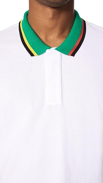 KENZO Placket Embroidery Polo Shirt