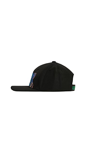 KENZO Tiger Cap with Metallic Embroidery