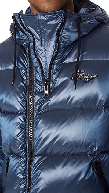 KENZO Down Jacket with Zips
