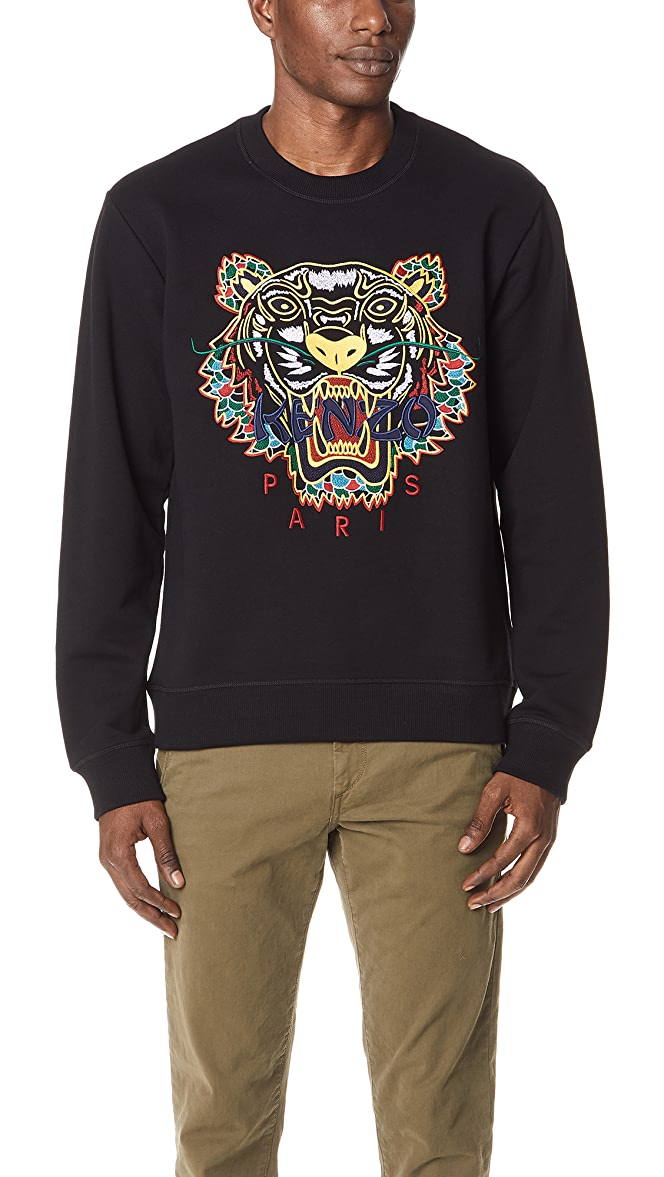 f8db0558 KENZO Dragon Tiger Sweatshirt | EAST DANE