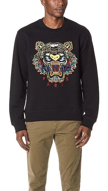 2d8fedd1718 KENZO Dragon Tiger Sweatshirt | EAST DANE