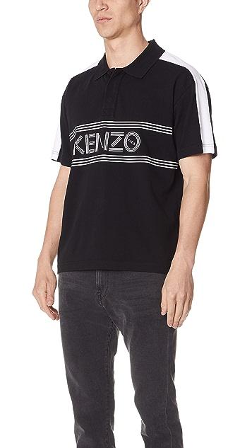KENZO Sport Straight Polo Shirt
