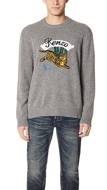 3317fd0d3 KENZO Jumping Tiger Sweater | EAST DANE