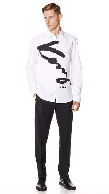 KENZO Signature Urban Slim Shirt