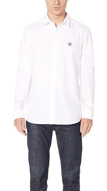 2168adfc KENZO Button Down Urban Slim Fit | EAST DANE