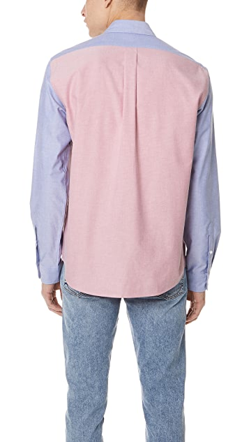 KENZO Knitted Casual Shirt