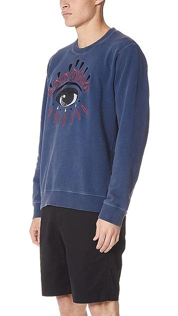 KENZO Bleached Eye Sweatshirt