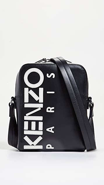 64d8db97f KENZO Logo Large Crossbody Bag | EAST DANE