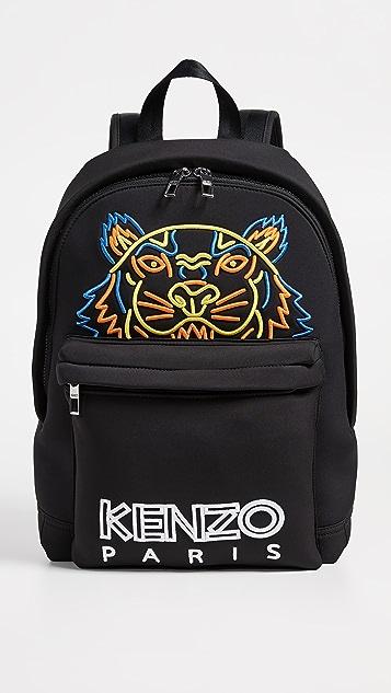 KENZO Neon Tiger Rucksack