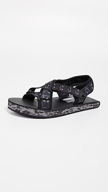 KENZO Lynn Flat Sandals