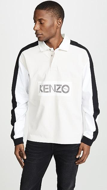 KENZO Rugby Long Sleeve Polo Shirt