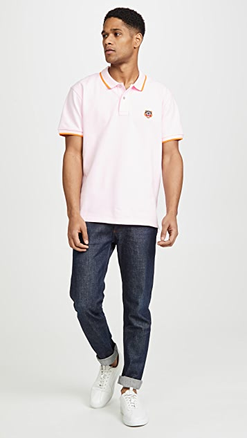 KENZO Regular Fit Tiger Polo