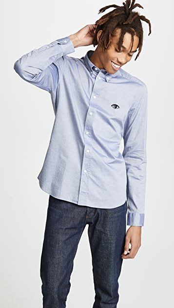 KENZO Eye Crest Slim Fit Shirt