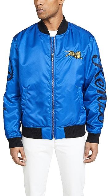 KENZO Jumping Tiger Crest Bomber Jacket
