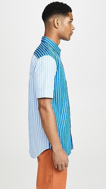 KENZO Short Sleeve Casual Fit Shirt