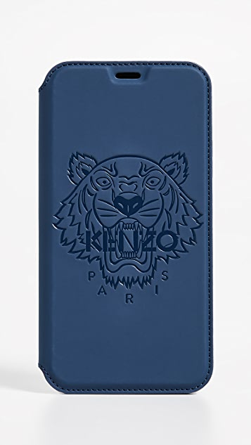 a3c8723c KENZO Tiger Folio iPhone X Case | EAST DANE