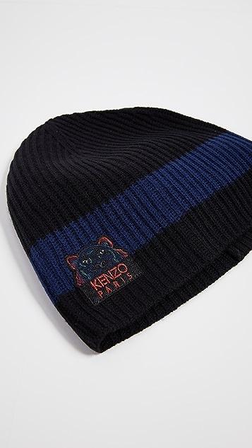 KENZO Wool Tiger Beanie  8f5c827214e