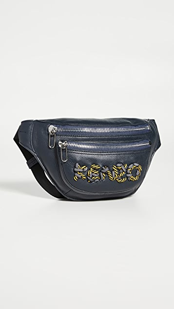 KENZO Cord Embroidery Bumbag