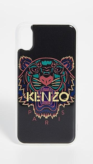 buy online 3decc 2a846 3D Tiger Head iPhone X / XS Case