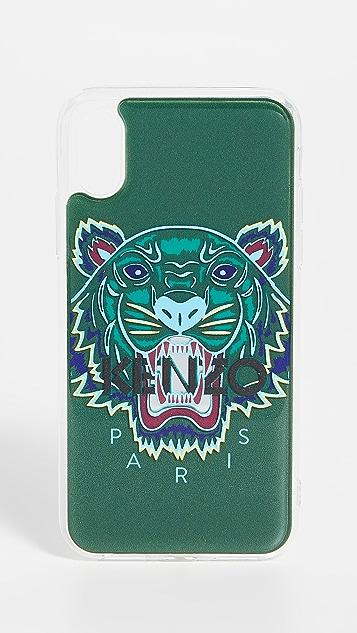 828fc51a85 3D Tiger Head iPhone X / XS Case
