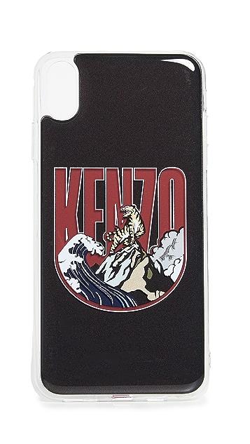 KENZO 3D Kenzo Badge iPone XS Max Case