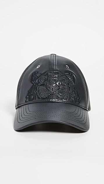 KENZO Leather Tiger Hat